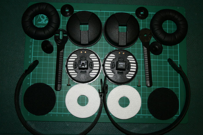 fully dismantled hd25s