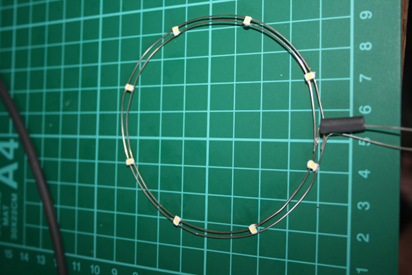 Ring of surface mounted LEDs
